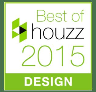 Winner: Best of Houzz 2015 Design!
