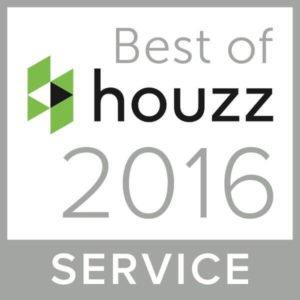 Winner: Best of Houzz 2016 Service!
